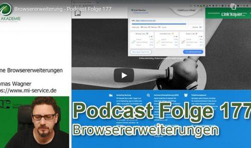 Browsererweiterungen Video