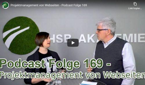 Projektmanagement von Webseiten Video