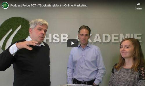Tätigkeitsfelder im Online Marketing